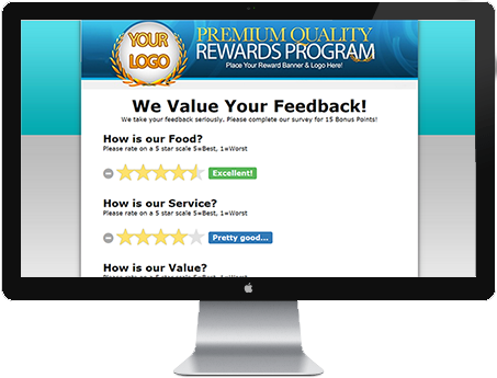 Dynamic Customer Surveys w/ Negative Feedback Notifications